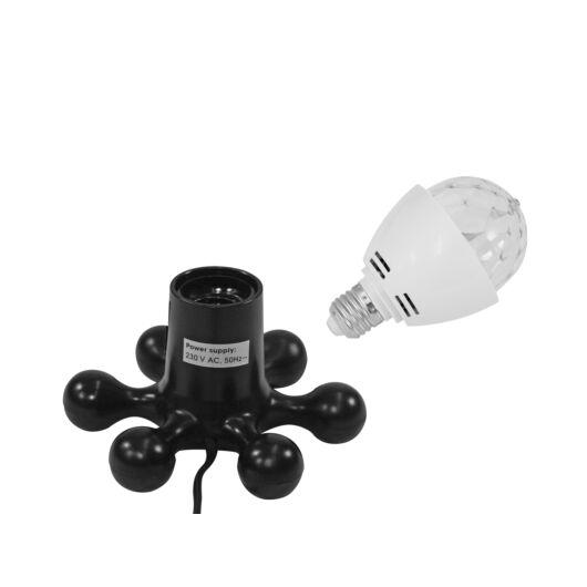 EUROLITE Set LED BC-1 6400K + Hexopus base black
